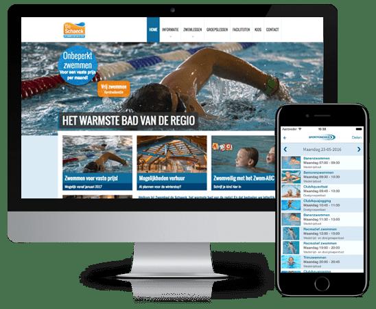 zwem apps voorbeelden